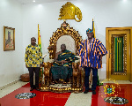 Make Ghana proud – Otumfuo charges Sports Minister