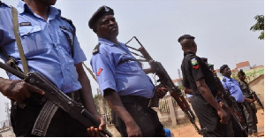 File photo of Nigerian police officers