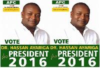 Hassan Ayariga, Founder - APC