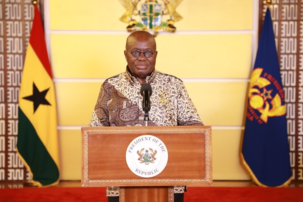 Full text: Akufo-Addo\'s speech on his eight address to the nation
