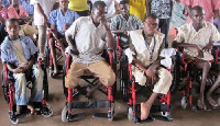 File photo: Persons living with disabilities