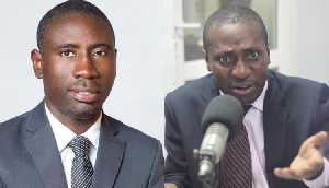 Dr. James Kofi Annan And Alexander Kwamina Afenyo Markin
