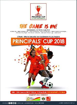 File photo - GT Bank Principals' Cup