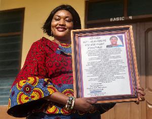 Grace Abla Avickson, Headmistress of Otrokpe District Assembly Basic School