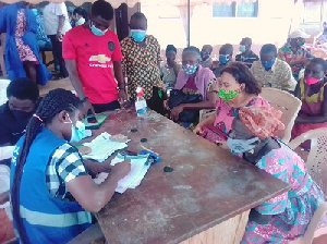 File Photo: Some registration centres have witnessed violence acts