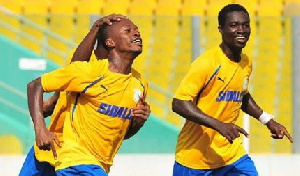 Players of New Edubiase