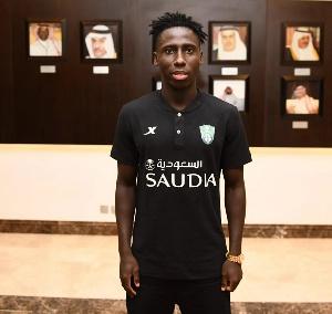 Ghana winger Samuel Owusu