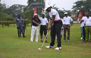 File Photo: Golfers