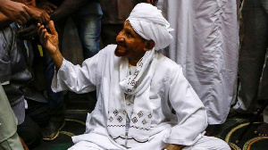 Sudan's former prime minister Sadiq al-Mahdi who died from Covid-19, (File AFP)