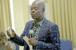 Co-chair of the Ghana Extractive Industries Transparency Initiative, Dr. Steve Manteaw