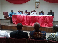 Dr. Doris Dartey (third from left) is a renowned media consultant