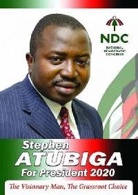 Stephen Atubiga, NDC Presidential candidate hopeful
