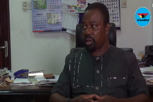 Dr. Vladimir Antwi Danso, Dean of GAFCSC and Security Analyst.