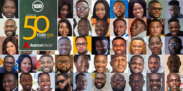2021 Top 50 Young CEOs in Ghana List