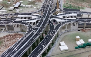 The 10-kilometre local road will include 5 flyovers linking all major roads networks to ease traffic