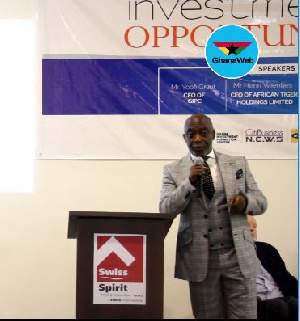 CEO of the Ghana Investment Promotions Centre, Yoofi Grant