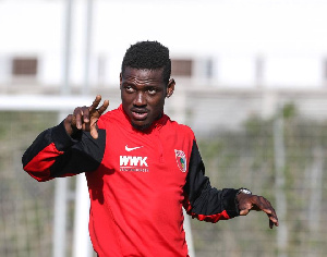 Ghana defender Daniel Opare