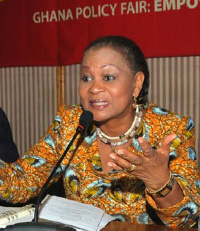 Joyce Aryee, Former CEO of the Chamber of Mines