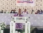 Chairman of the Council, Mickson Kwame Akpavor