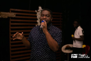 Talented gospel singer, Johnny Godsent Haick