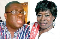 Sammi Awuku and Rita Asobayire