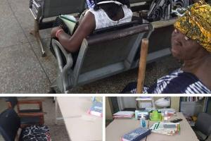 Scenes from the Keta Municipal Hospital