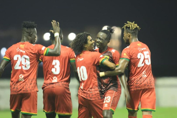 Kotoko's friendly with Atletico Arabia called off over technical reasons
