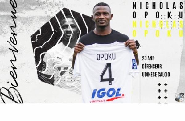 Nicholas Opoku, Ghanaian center back