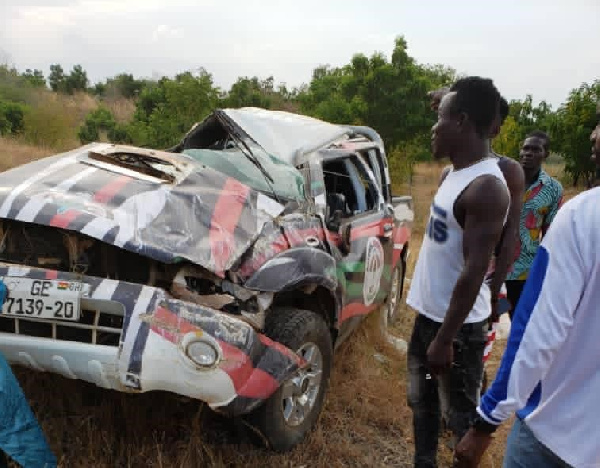 Three NDC executives involved in car accident