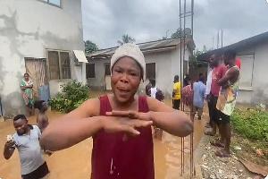 A Resident Venting Her Spleen