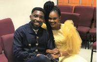 Timi with wife Busola Dakolo