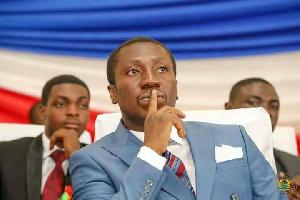 Member of Parliament for Efutu, Alexander Kwamina Afenyo-Markin
