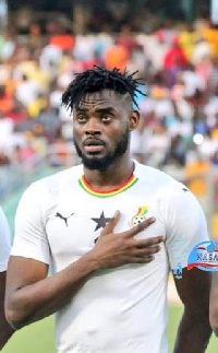 Kasim Adams will has be a pillar at the back for the Stars i the ongoing AFCON