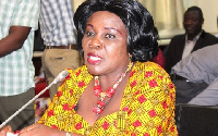 Aviation Minister, Cecilia Dapaah