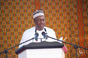 Former President of Ghana, John Dramani Mahama