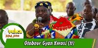 Otubour Gyan Kwasi II, Paramount Chief of Aburi Traditional Area