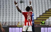 Ghana and Red Star Belgrade striker Richmond Boakye Yiadom
