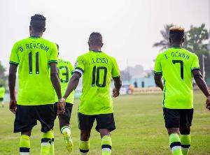 Dreams FC Players Gh