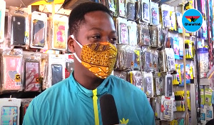 A man speaking to GhanaWeb on the ease of restrictions in Ghana