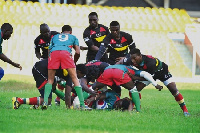 Ghana Eagles won 46-5 against Benin