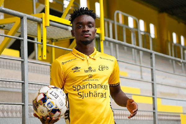 Midfielder Emmanuel Boateng in Elfsborg squad for the first time; set for league debut