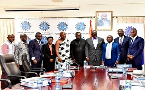 Members of the newly constituted Board of Directors