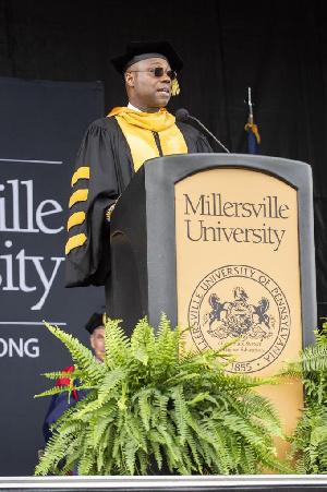 Dr. Daniel Wubah is now the  President of  Millersville University, Pennsylvania