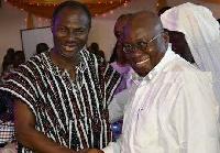 President Nana Addo with Prophet Badu Kobi