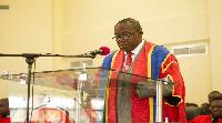 Professor Mawutor Avoke , former Vice Chancellor