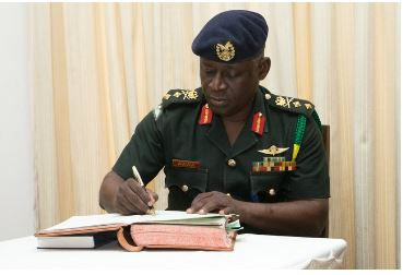 Major General Obed Boamah Akwa, newly appointed Chief of Defence Staff