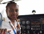 Meet Ghana's youngest female commercial pilot, Audrey Maame Esi Swatson