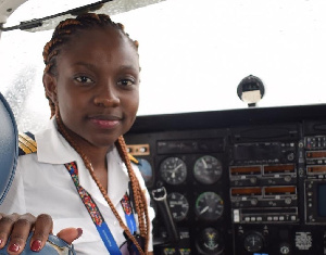 Audrey Maame Esi Swatson is a pilot with PassionAir  in Ghana