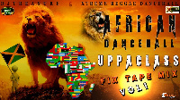 The cover art for the African Dancehall Fixtape Volume 1