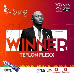Teflon Flexx is 2020 Unsung Artiste of the year